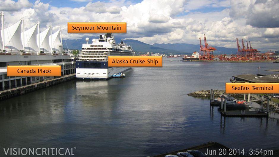 About Vancamca Live Vancouver Weather Webcam - Cruise ship web cameras